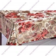 Клеенка на стол (флиз) Турция 20м Ткань Голд