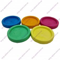 Крышка полиэтиленовая для горячего закрывания (Уп. 500шт) (цветная)