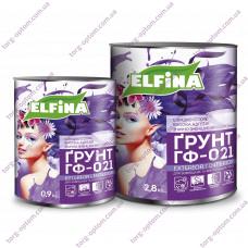 """ГФ - 021 """"ELFINA"""" 0,9кг кр/коричневая"""