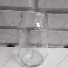 Банка стекло 1,0л (12 шт)
