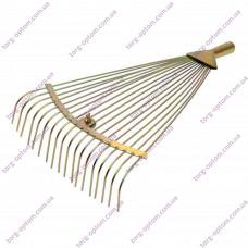 Грабли веерные прутковые (Золото)(Крашенные)