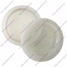 Крышка полиэтиленовая для горячего закрывания (Уп. 500шт) (белая)