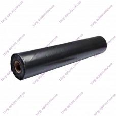 Пленка полиэтил. 100 мкм Черная (Длина 100м, рукав 1,5м)